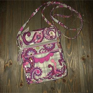Vera Bradley crossbody floral boho multicolor bag